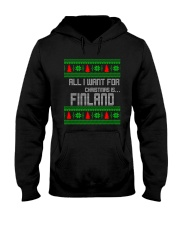 FINLAND CHRISTMAS Hooded Sweatshirt thumbnail