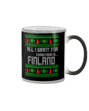 FINLAND CHRISTMAS Color Changing Mug thumbnail