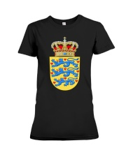 DANISH SYMBOL 2 Premium Fit Ladies Tee thumbnail