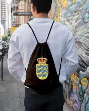 DANISH SYMBOL 2 Drawstring Bag lifestyle-drawstringbag-front-1