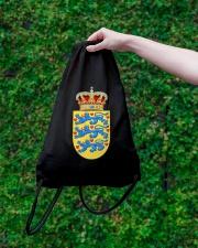 DANISH SYMBOL 2 Drawstring Bag lifestyle-drawstringbag-front-3