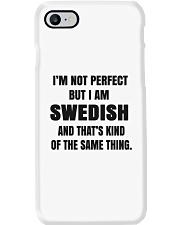 NOT PERFECT SWEDISH Phone Case thumbnail