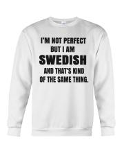 NOT PERFECT SWEDISH Crewneck Sweatshirt thumbnail