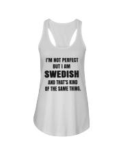NOT PERFECT SWEDISH Ladies Flowy Tank thumbnail