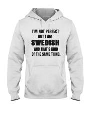 NOT PERFECT SWEDISH Hooded Sweatshirt thumbnail