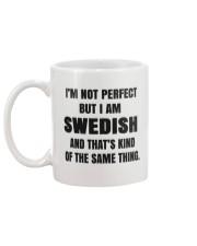 NOT PERFECT SWEDISH Mug back