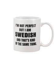 NOT PERFECT SWEDISH Mug front