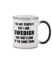 NOT PERFECT SWEDISH Color Changing Mug thumbnail