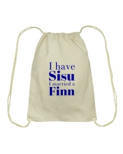 FINN MARRIED  Drawstring Bag thumbnail