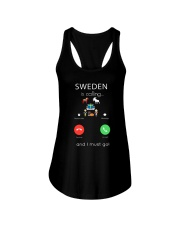 SWEDEN IS CALLING Ladies Flowy Tank thumbnail