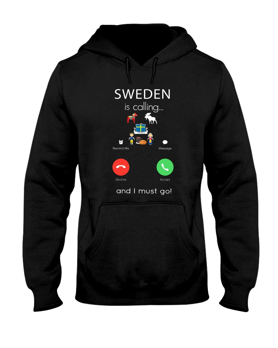 SWEDEN IS CALLING Hooded Sweatshirt