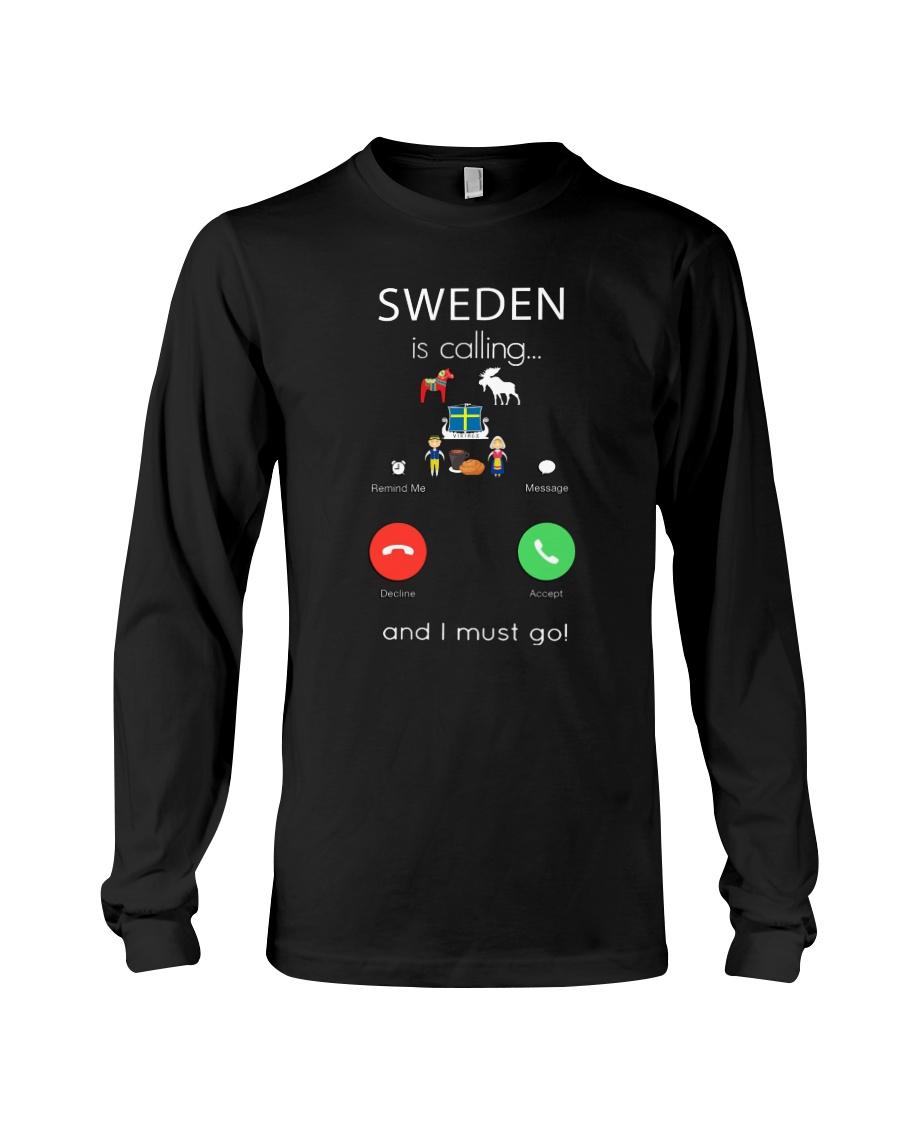 SWEDEN IS CALLING Long Sleeve Tee
