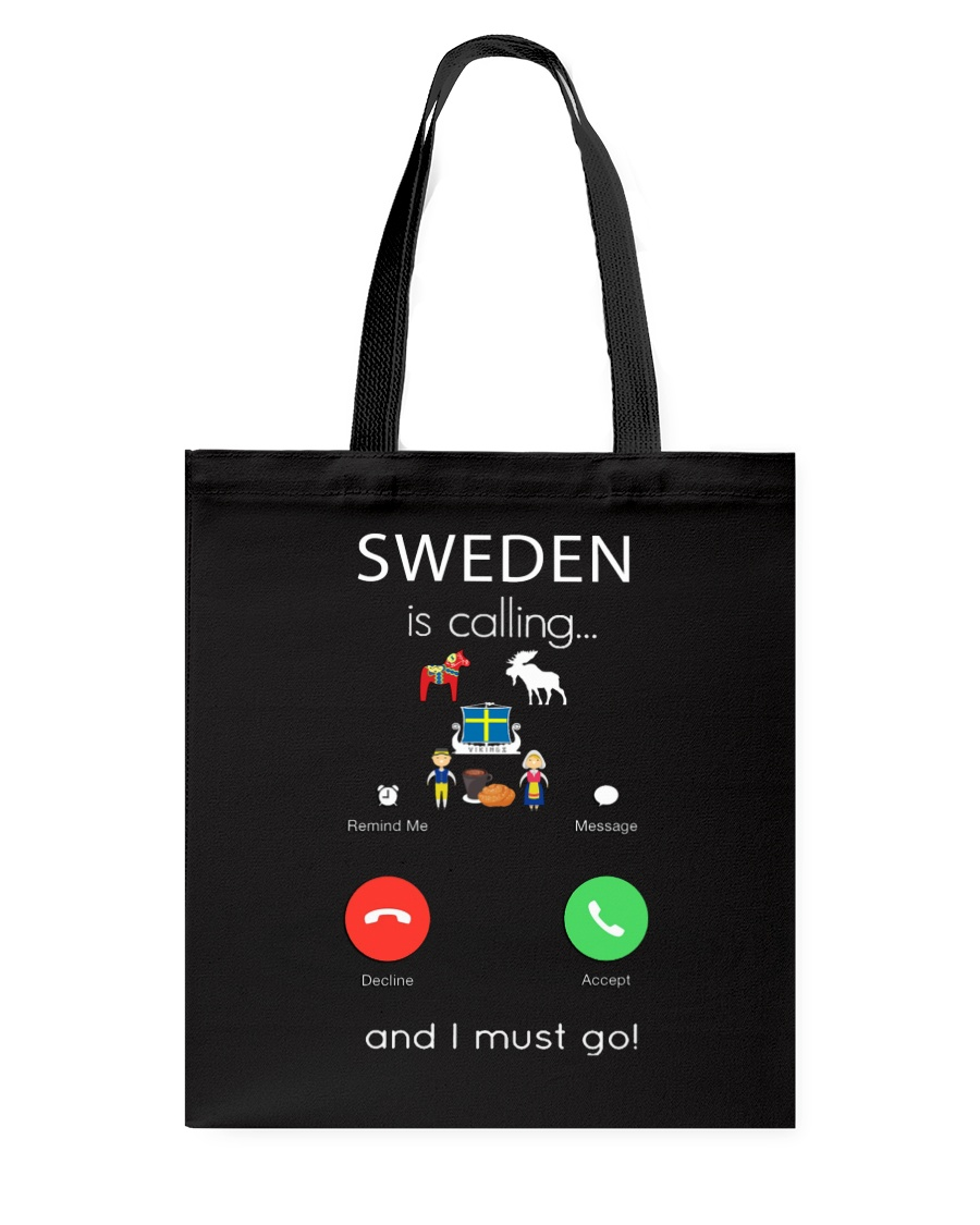 SWEDEN IS CALLING Tote Bag