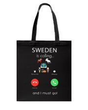 SWEDEN IS CALLING Tote Bag thumbnail