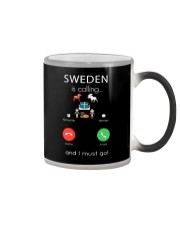 SWEDEN IS CALLING Color Changing Mug tile