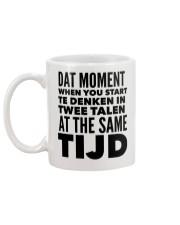 DUTCH DAT MOMENT  Mug back