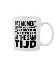 DUTCH DAT MOMENT  Mug front