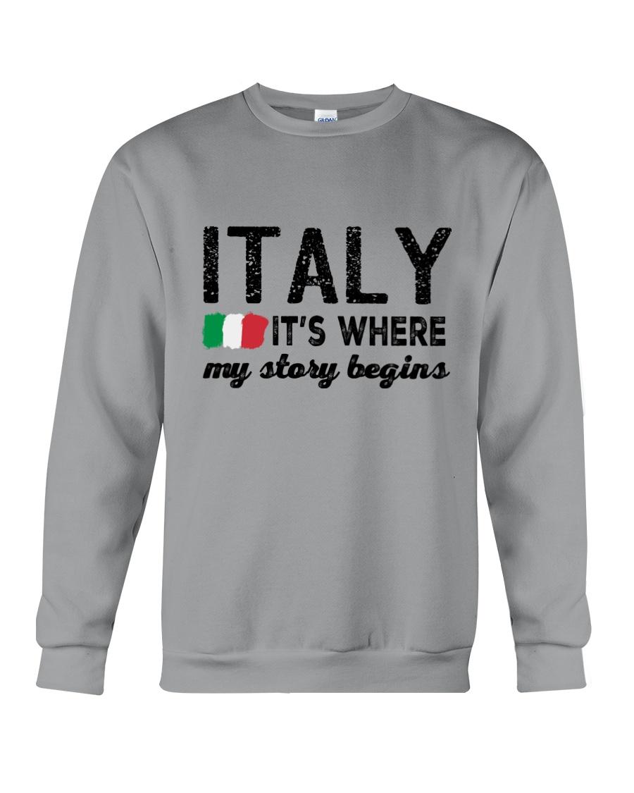 ITALY STORY BEGINS Crewneck Sweatshirt