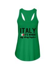 ITALY STORY BEGINS Ladies Flowy Tank thumbnail