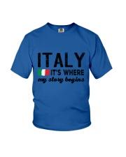 ITALY STORY BEGINS Youth T-Shirt thumbnail