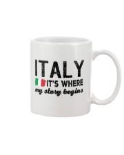 ITALY STORY BEGINS Mug thumbnail