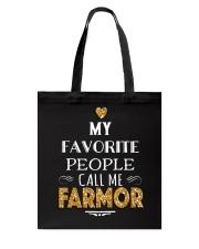 DANISH CALL FARMOR Tote Bag thumbnail