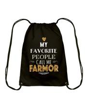 DANISH CALL FARMOR Drawstring Bag thumbnail