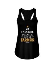 DANISH CALL FARMOR Ladies Flowy Tank thumbnail
