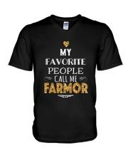 DANISH CALL FARMOR V-Neck T-Shirt thumbnail