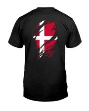 DANISH FLAG Classic T-Shirt back
