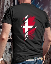 DANISH FLAG Classic T-Shirt lifestyle-mens-crewneck-back-2