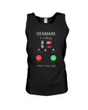 DENMARK IS CALLING  Unisex Tank tile