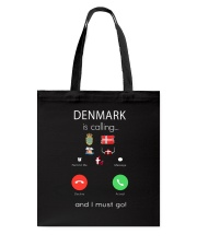 DENMARK IS CALLING  Tote Bag thumbnail