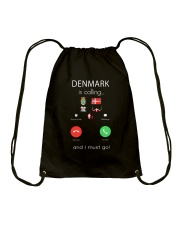 DENMARK IS CALLING  Drawstring Bag thumbnail