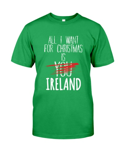 IRELAND - ALL I WANT FOR CHRISTMAS