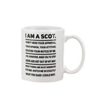SCOTTISH - I AM A SCOT Mug front