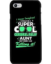 SUPER COOL CEREBRAL PALSY  AUNT Phone Case thumbnail