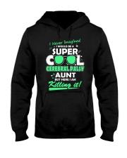 SUPER COOL CEREBRAL PALSY  AUNT Hooded Sweatshirt thumbnail