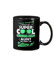 SUPER COOL CEREBRAL PALSY  AUNT Mug front