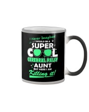 SUPER COOL CEREBRAL PALSY  AUNT Color Changing Mug thumbnail