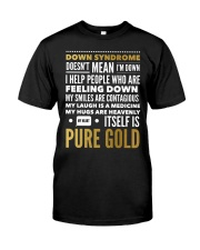 DOWN SYNDROME PURE GOLD Classic T-Shirt thumbnail