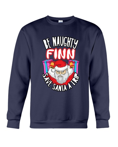 BE NAUGHTY FINN SAVE SANTA A TRIP