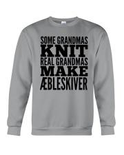 DANISH GRANDMA MAKE AEBLESKIVER Crewneck Sweatshirt thumbnail