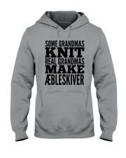 DANISH GRANDMA MAKE AEBLESKIVER Hooded Sweatshirt thumbnail