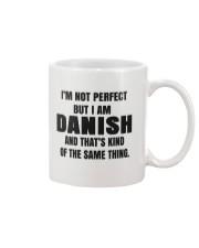 DANISH GRANDMA MAKE AEBLESKIVER Mug thumbnail