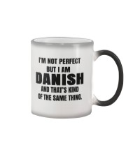 DANISH GRANDMA MAKE AEBLESKIVER Color Changing Mug thumbnail