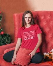 DANISH WOMAN Ladies T-Shirt lifestyle-holiday-womenscrewneck-front-2