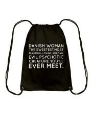 DANISH WOMAN Drawstring Bag thumbnail