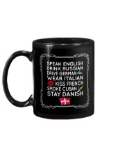STAY DANISH Mug back