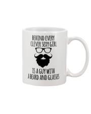 BEARD AND GLASSES Mug front